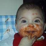 Los niños que comen demasiado