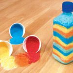 Manualidad fácil: botellitas de sal