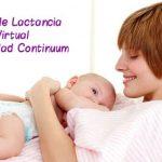 Domingo 2 Septiembre: próximo Taller de Lactancia Virtual Maternidad Continuum