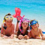 La playa y los niños ¡buena combinación!