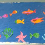 Manualidad fácil: Mural del océano