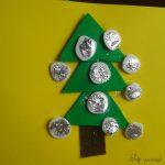 Manualidad fácil: postales navideñas