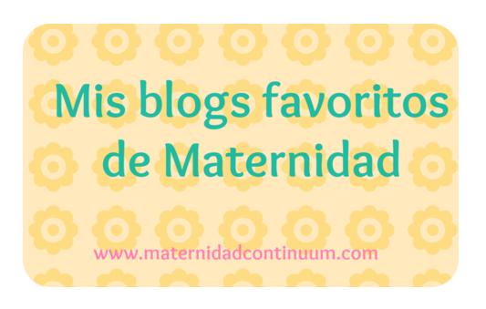 Mis blogs favoritos de Maternidad: 22-28 septiembre 2014