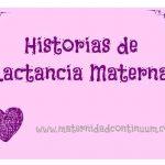 Historias de Lactancia Materna: la historia de Eva