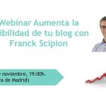 Te invito a una charla online gratuita con Franck Scipion