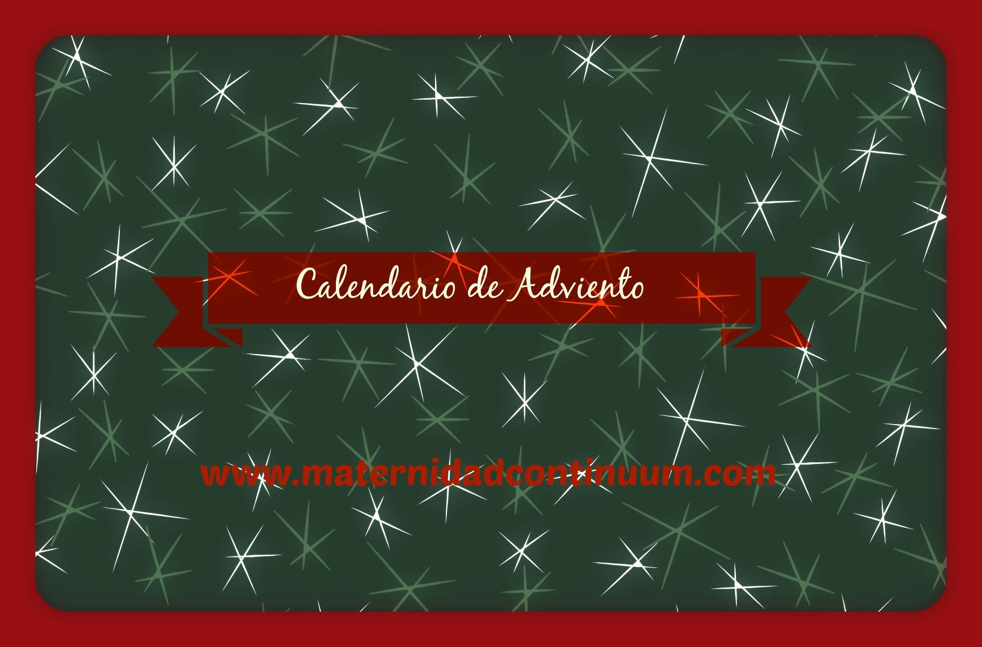 Hacemos un calendario de adviento maternidad continuum for Calendario adviento ikea