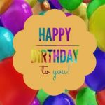 Feliz cuarto cumpleaños mi pequeña