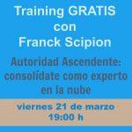Te invito a un Training GRATIS con Franck Scipion