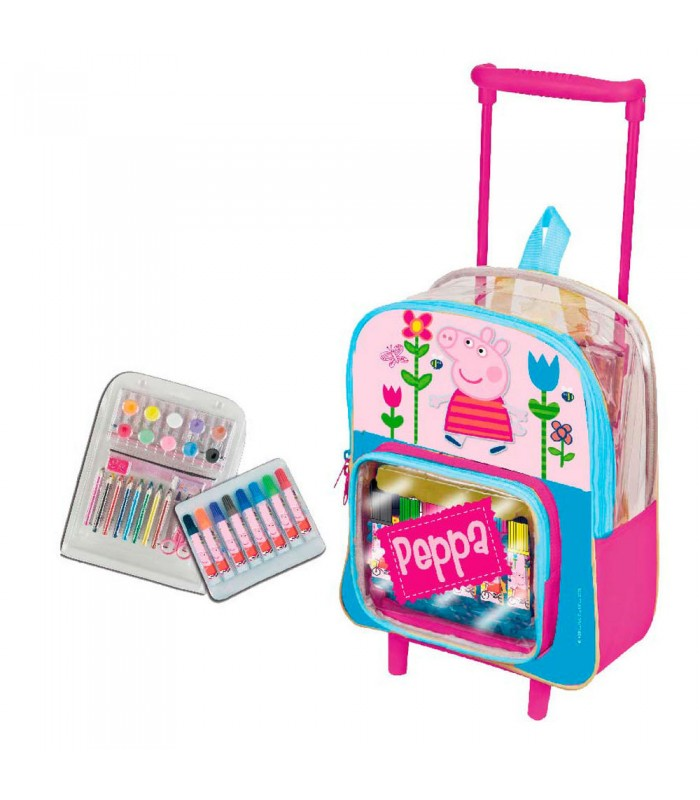 trolley-y-set-pintura-peppa-pig-flowers
