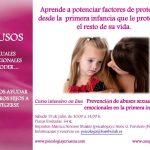 """Curso intensivo """"Prevención de abusos sexuales y emocionales en la infancia"""""""
