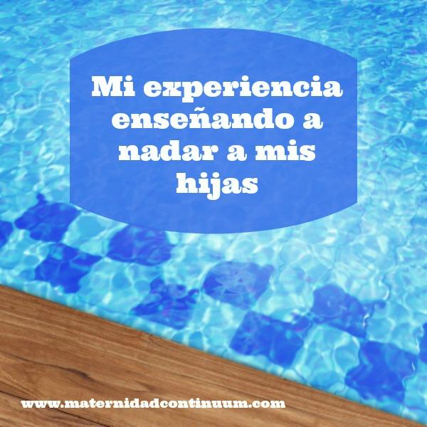 Cartel_enseñando a nadar