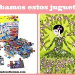 """Prueba de juguetes: """"Cuadros de purpurina: vestidos"""" y """"Puzzle de suelo de Bomberos"""""""