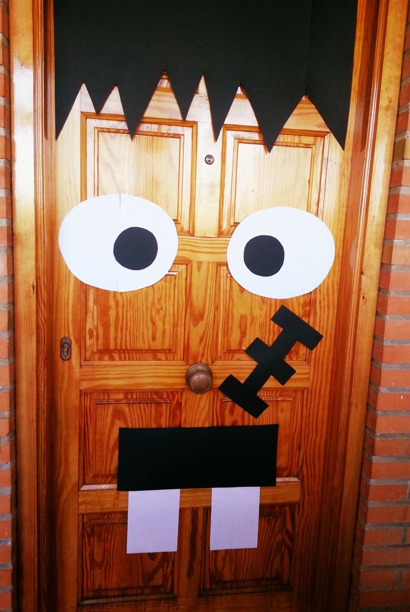 3 ideas muy f ciles para decorar tu casa de halloween for Ideas puertas