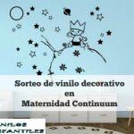 Sorteo de vinilo decorativo gracias a vinilosinfantiles.com