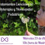 Tratamientos Esenciales de Fitoterapia y Homeopatía Pediátrica