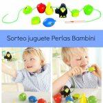 Ganador del sorteo juguete Perlas Bambini
