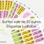 Ganador sorteo de vale de 30 euros para etiquetas Ludilabel