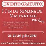 I Fin de Semana de Maternidad Online