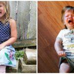 Modas odiosas: sacar fotos a nuestros hijos en plena rabieta
