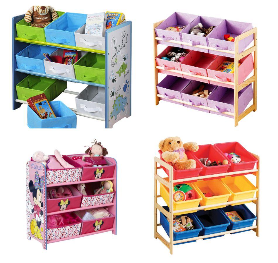 Ideas para mantener todos los juguetes de tus hijos ordenados