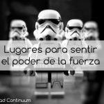Lugares para sentir el poder de la fuerza (Star Wars)