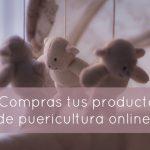 ¿Compras tus productos de puericultura online?