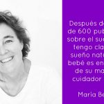El sueño natural de un bebé y niño humano es en compañía de su madre: entrevista a María Berrozpe