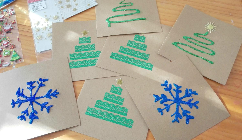Postales de navidad fciles para los rezagados Maternidad Continuum