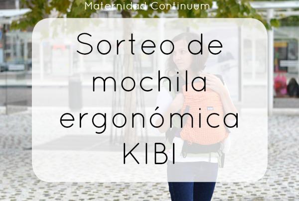 Sorteo de una mochila ergonómica KIBI gracias a loa-lo