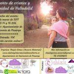Estaré en el 1º Evento de crianza y maternidad de Valladolid
