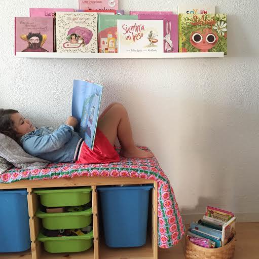 Cesta de cuentos mi sistema para que mis hijas y sus for El rincon de la lectura