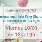 Webinar gratuito: Consigue el equilibrio Feng Shui en el dormitorio de tus hijos
