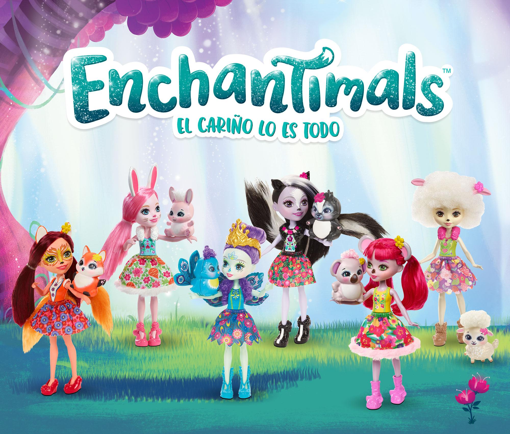 41358978b61a Esta Navidad ya sé qué muñecas van a triunfar y se van a agotar de las  estanterías: Enchantimals.