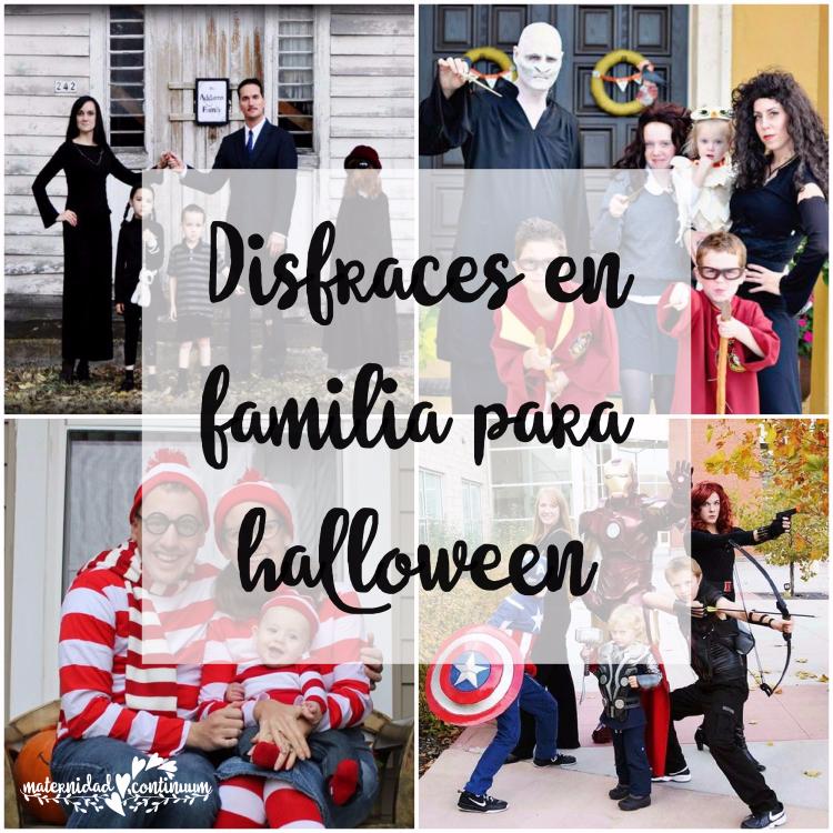 Disfraces De Halloween En Familia Gran Idea Maternidad Continuum - Idea-disfraz