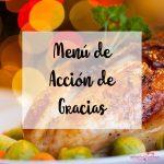 Menú de Acción de Gracias
