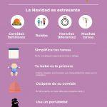Sobrevivir a una navidad con un bebé: infografía