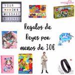 Regalos geniales para Reyes por menos de 30 euros