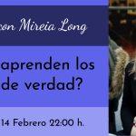 Webinar gratuito con Mireia Long: ¿Cómo aprenden los niños?