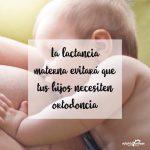 La lactancia materna evitará que tus hijos necesiten ortodoncia