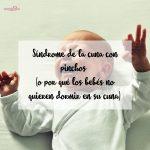 Síndrome de la cuna con pinchos o por qué los bebés no quieren dormir en su cuna