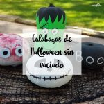Calabazas de Halloween sin vaciado