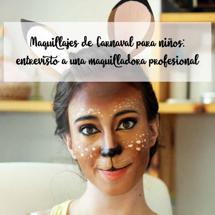 Maquillajes de carnaval para niños
